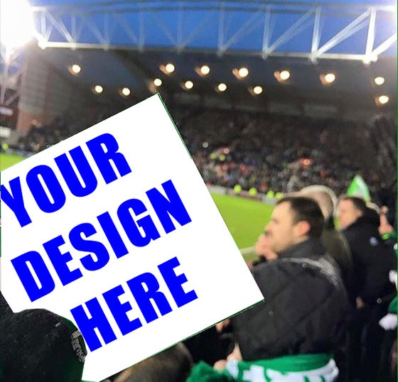 Image of 1000 or 500 Custom Personalised printed football Ultras Stickers with your own design