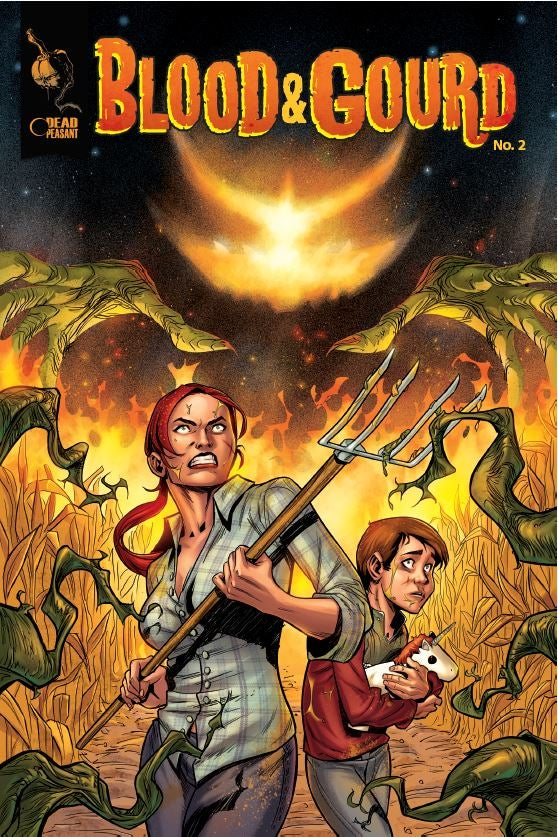 Image of LIMITED 1st EDITION Blood & Gourd Issue #2