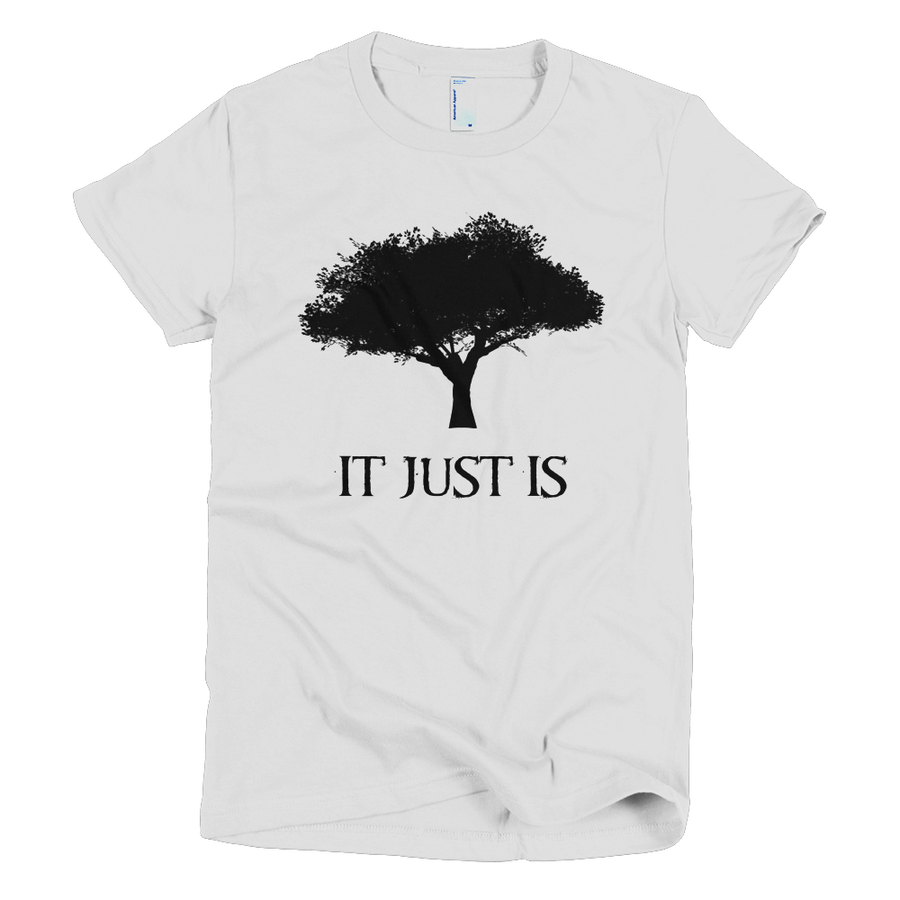 Image of Women's It Just Is Logo Shirt