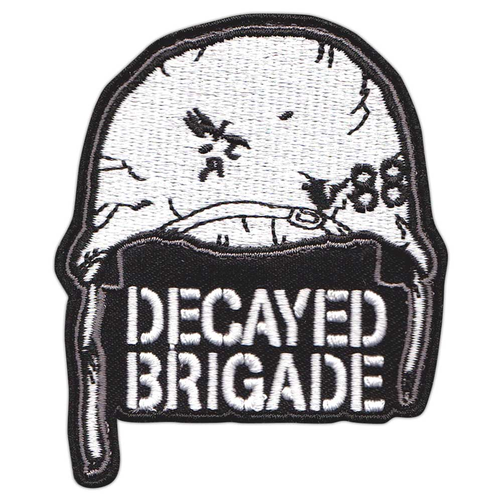 Image of Decayed Helmet Patch
