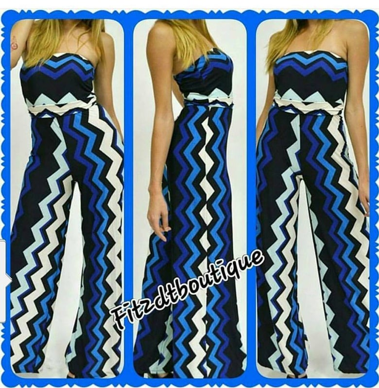 Image of Chevron Romper