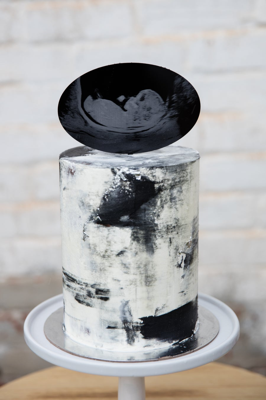 Image of Engraved  Ultrasound Cake Topper