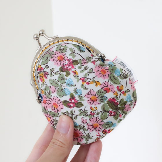 Image of Secret Garden Mini Kisslock Coin Purse