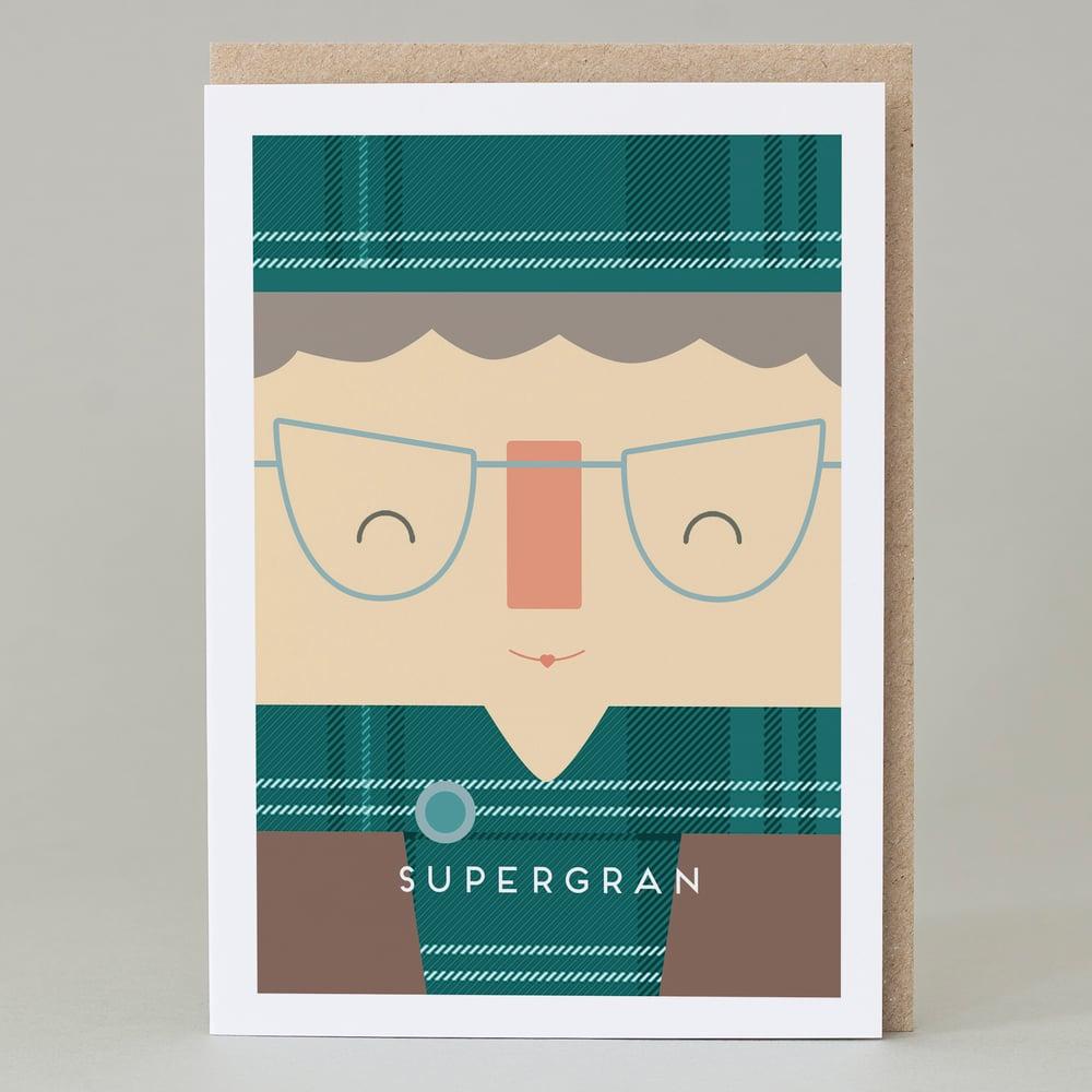 Image of 'Supergran' Card