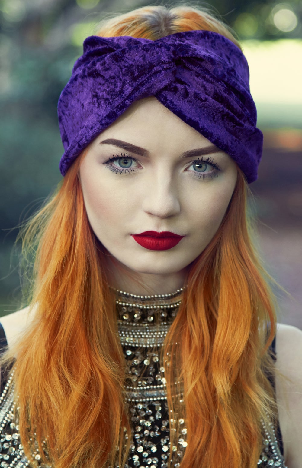 Image of Luxe Velvet Headband Black - Available in 12 colours