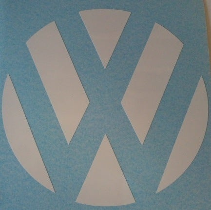 Image of Black/White/Blue/Fuschia/Yellow/Purple/Green/Orange Rear Badge Vinyl