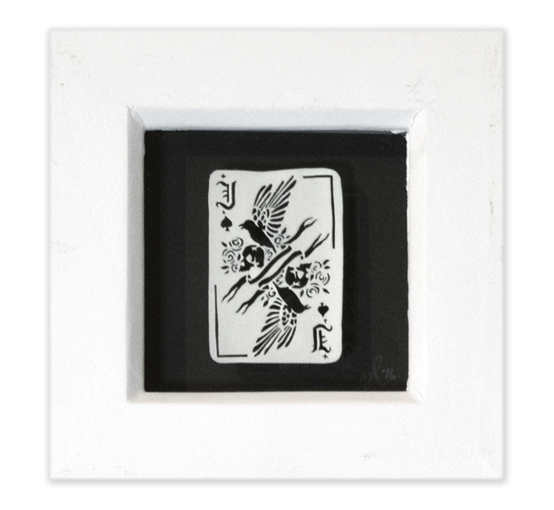 Image of Playing Card Papercut - Jack