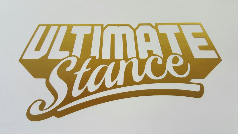Image of Ultimate Stance - Sticker