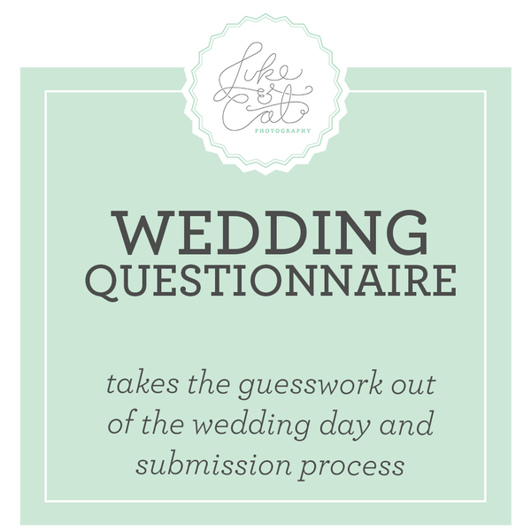 Image of Wedding Questionnaire