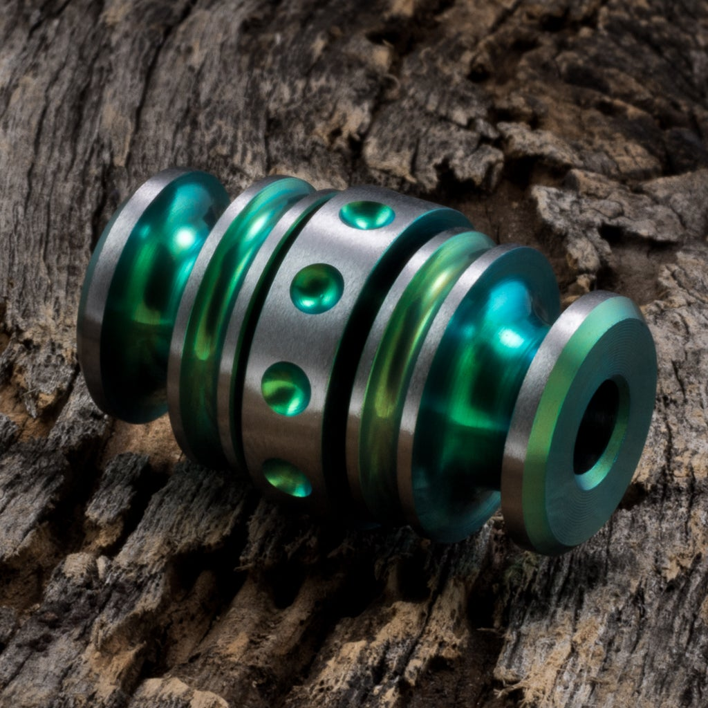 Image of Kong Bead Toxic Green #1