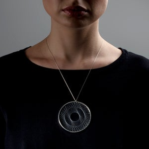 Image of Necklace 'double-weave Spirograph'