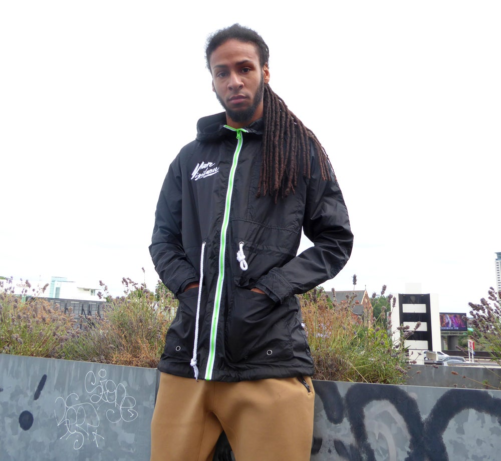 Image of Black Windbreaker (Rainy Dayzz Mk.1)