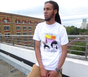 Mens 'Lover not a Fighter!' Tee - Moore Vigilance
