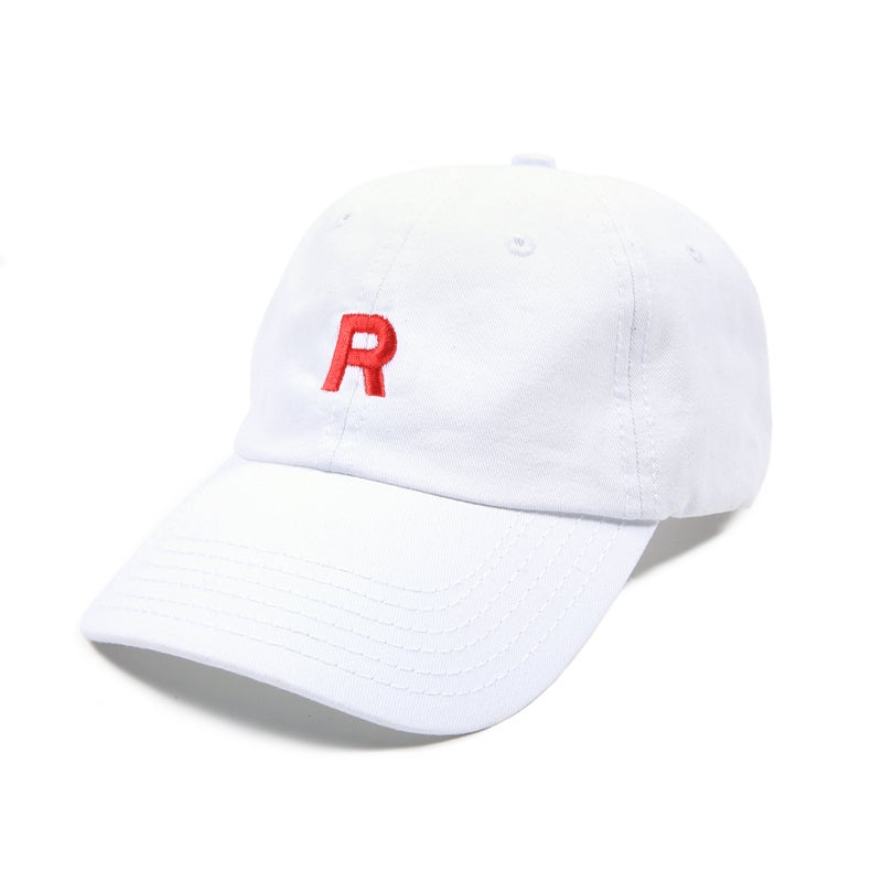 Image of Team Rocket Low Profile Sports Cap - White