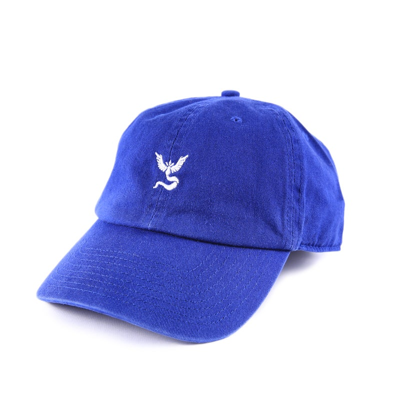 Image of Team Mystic Low Profile Sports Cap - Blue