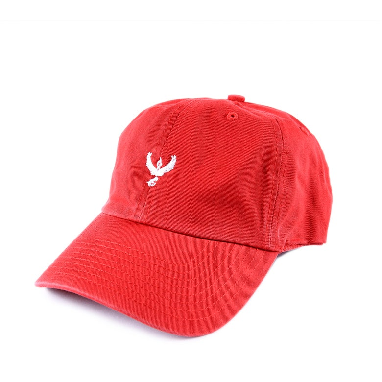 Image of Team Valor Low Profile Sports Cap - Red