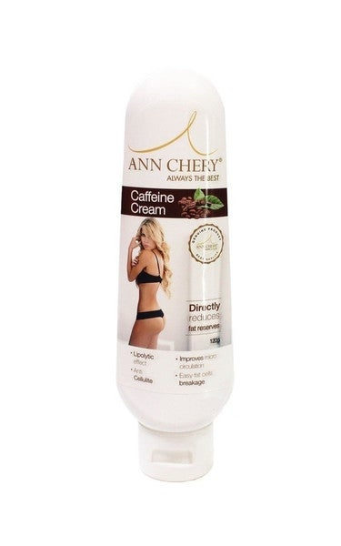 Image of ANN CHERY CAFFEINE REDUCING FIRMING CREAM / WAIST TRAINING ANTI-CELLULITE 120GR