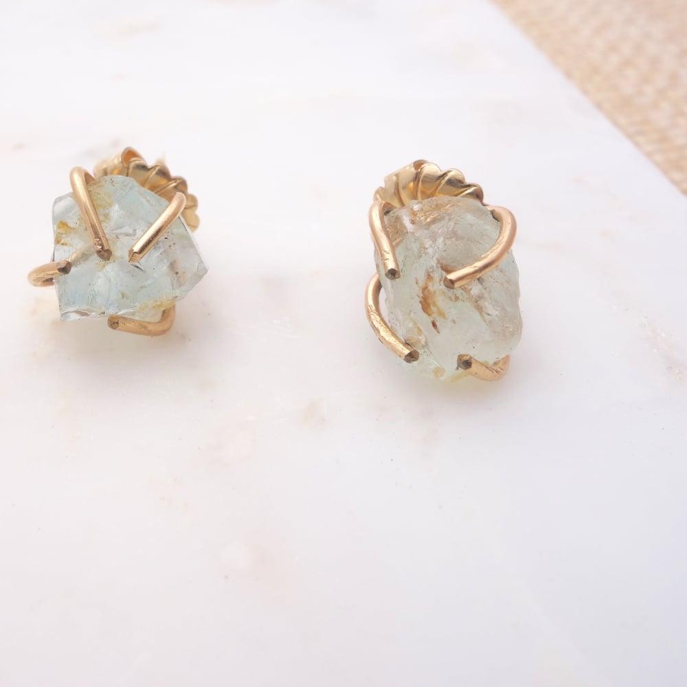 Image of Raw Gem Earring