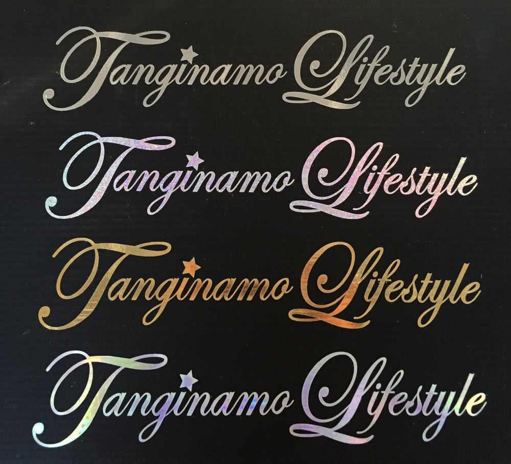 Image of Tanginmo Lifestyle sticker