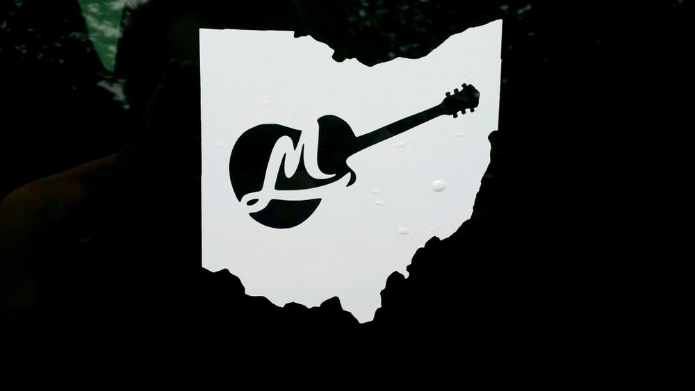 Image of Mark Leach Window Decal