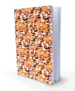 Image of Clownfish Camo A5 Notebook