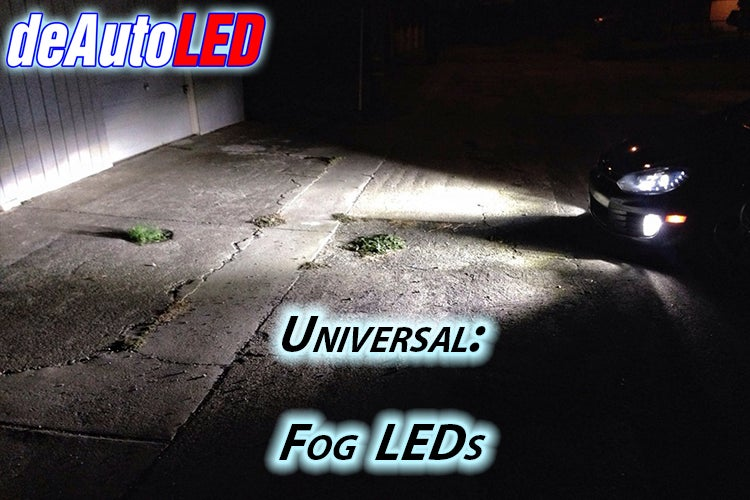 Image of LED Headlight or Fog Bulb Kit - Error Free - Plug & Play