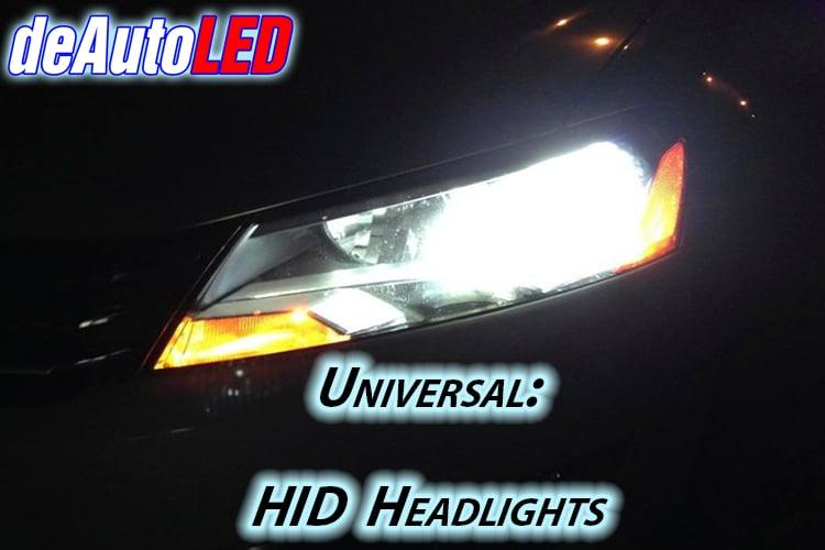 HID Headlight Kit - Slim Digital Ballast and High Power UV coated HID bulbs