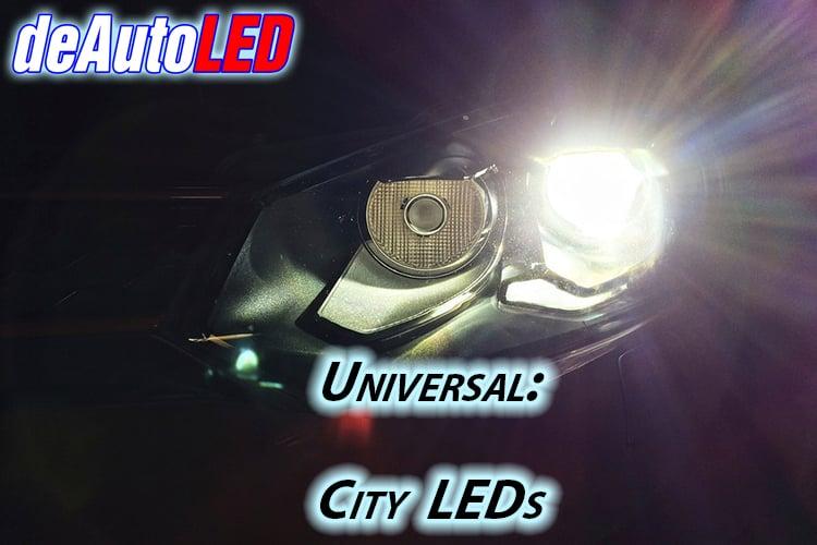 Image of City Lights: High Power LED/Crisp Bright White/Error Free fits: All Cars VW/Audi Models