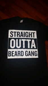 Image of STRAIGHT OUTTA BEARDGANG TEE