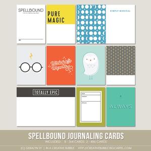 Image of Spellbound Journaling Cards (Digital)