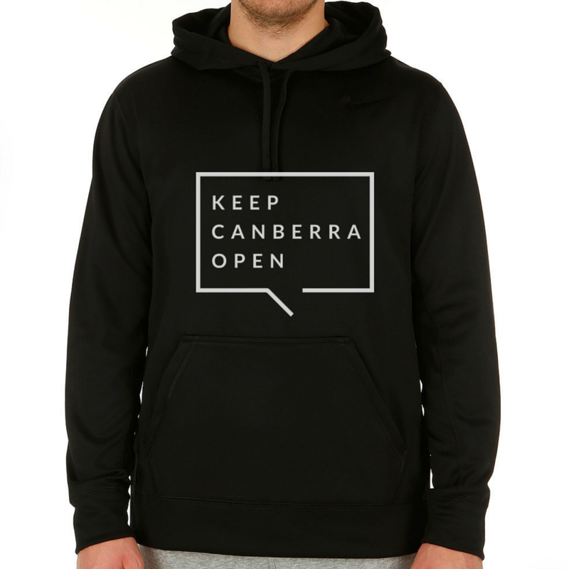 Image of Keep Canberra Open Hoodie