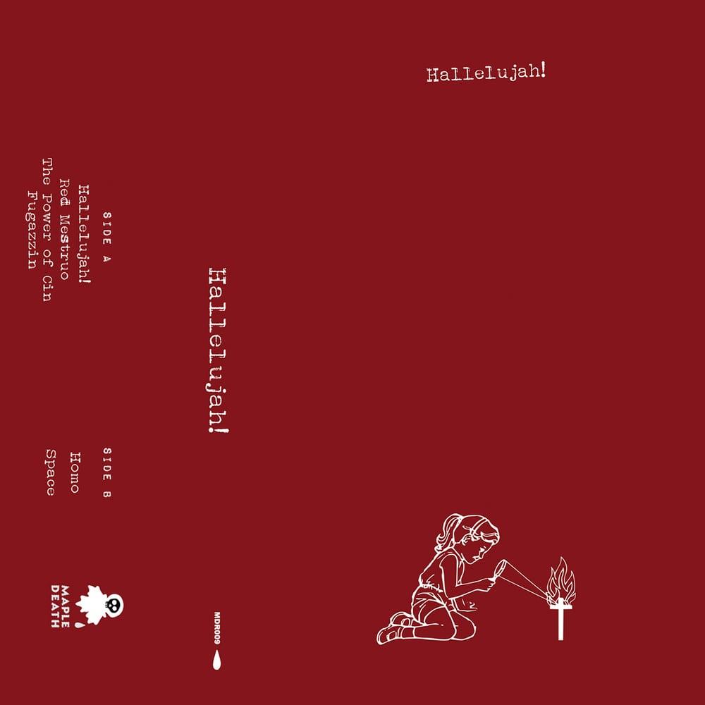 Image of Hallelujah! - Hallelujah! C20 tape (MDR009)