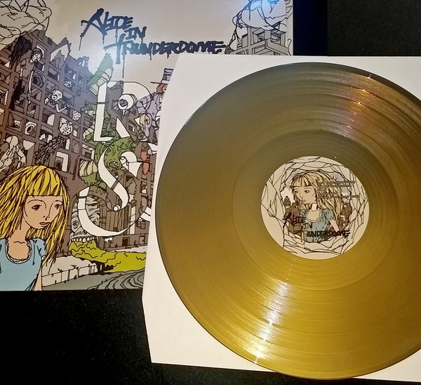 Image of Alice In Thunderdome LTD. Gold LP