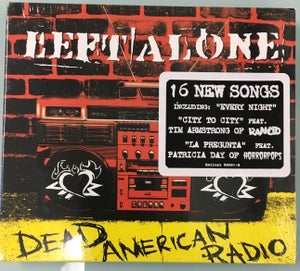 "Image of Left Alone ""Dead American Radio"" CD"