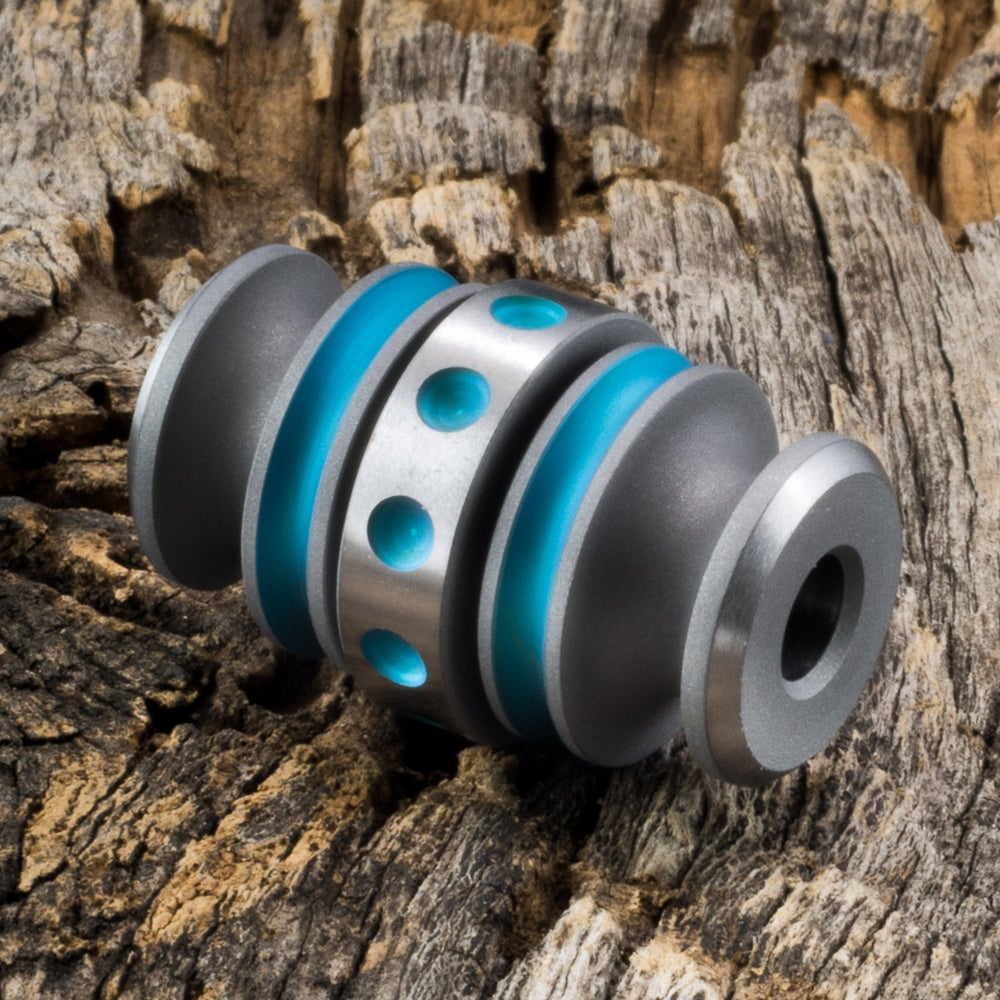 Image of Kong Bead Dirty Aqua #1