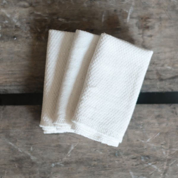 Image of Organic Birdseye Cotton Washcloths