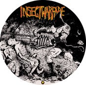 "Image of INSECT WARFARE Endless War With Grindcore Restitution 12"" picture disc"