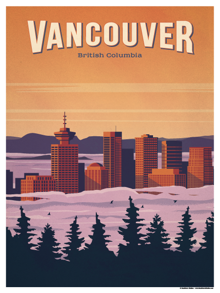 Image of Vancouver Poster