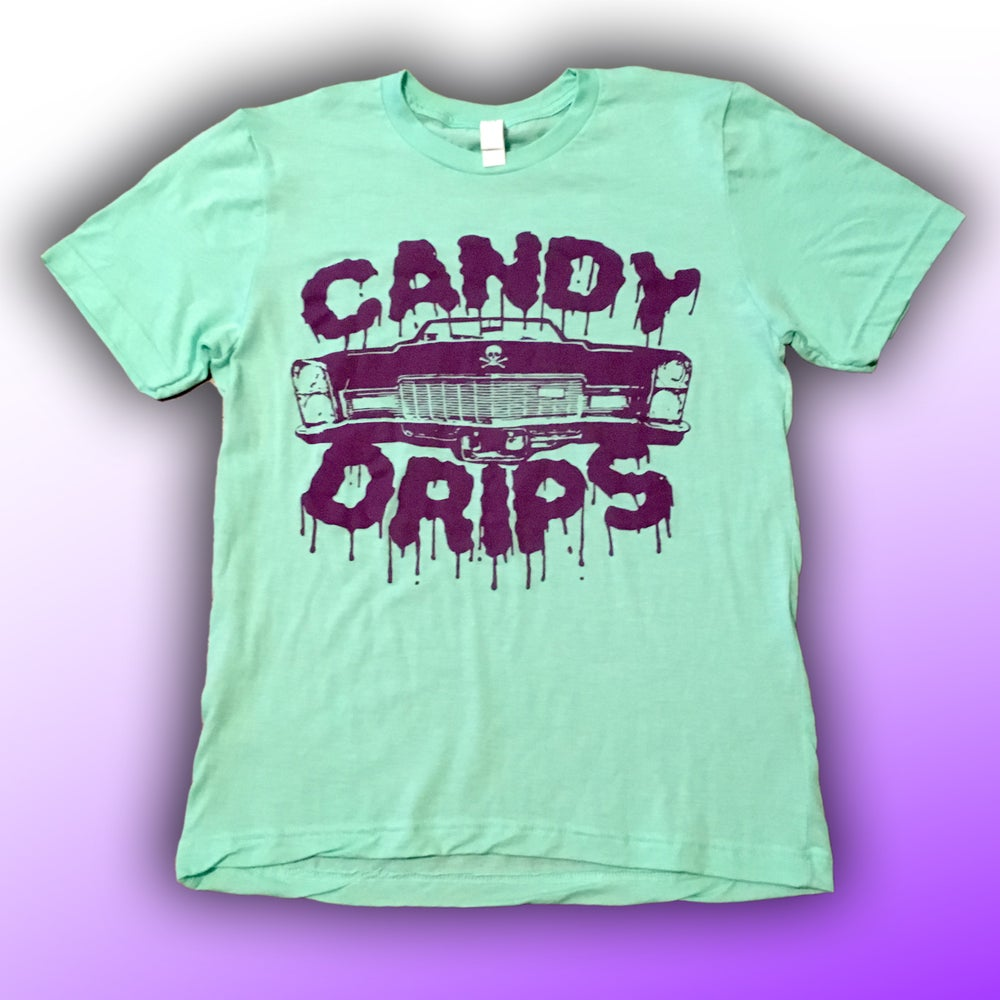 Image of Candy Drips Large Logo T shirts
