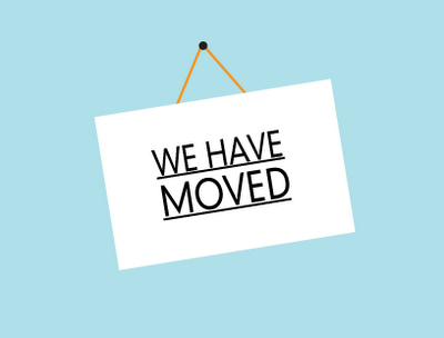 Image of WE HAVE MOVED