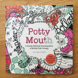 Image of Potty Mouth Adult Colouring Book