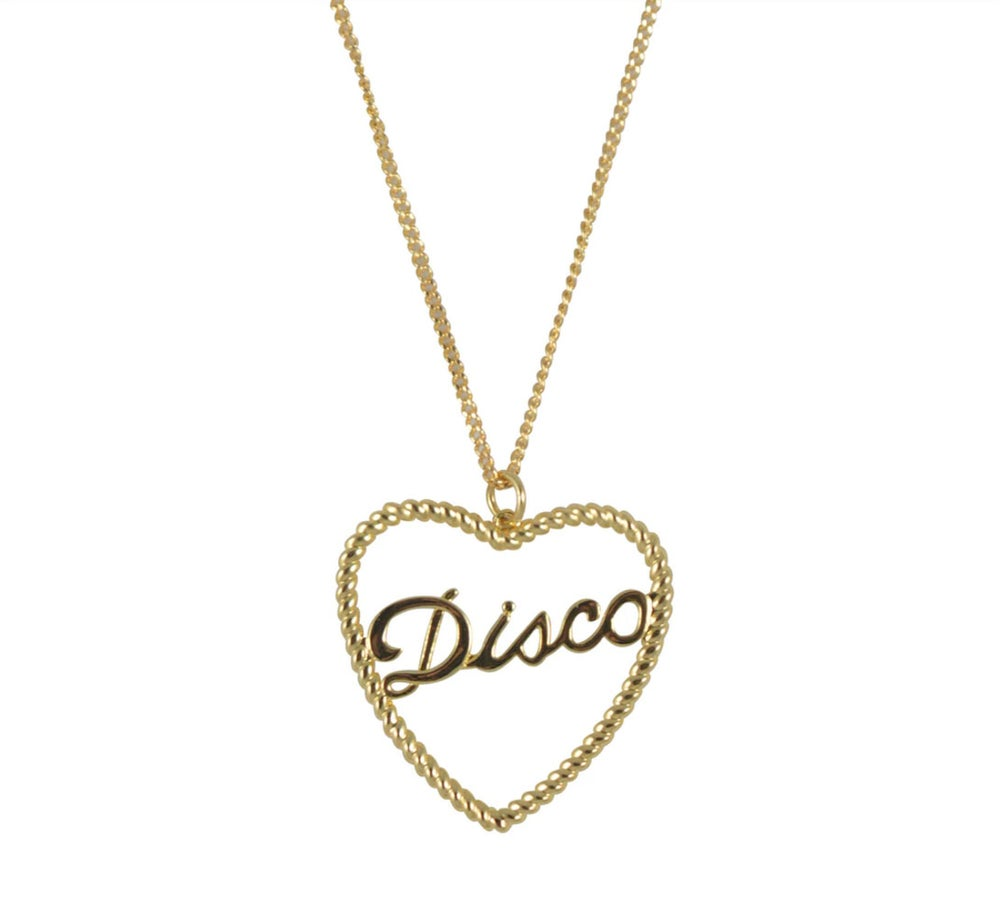 Image of Disco Rope Necklace