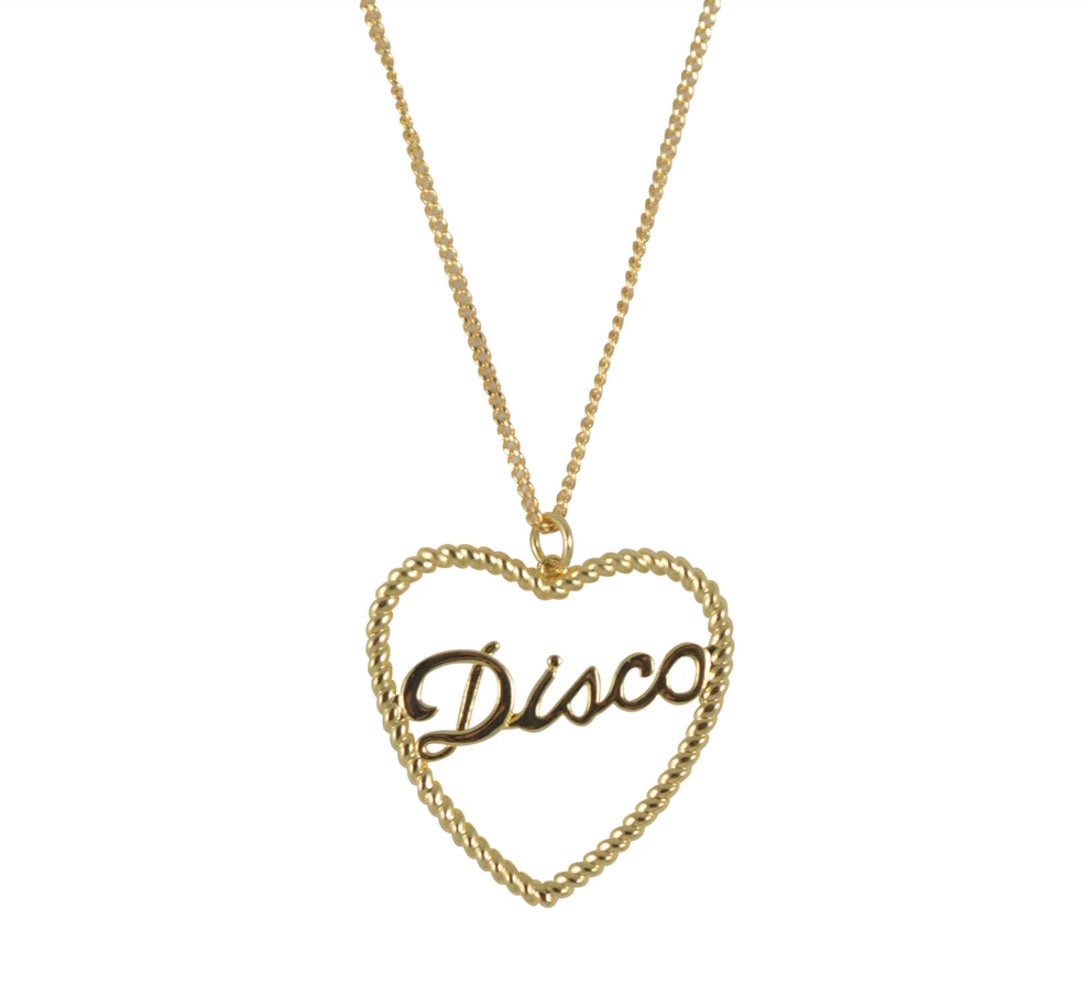 Disco Rope Necklace