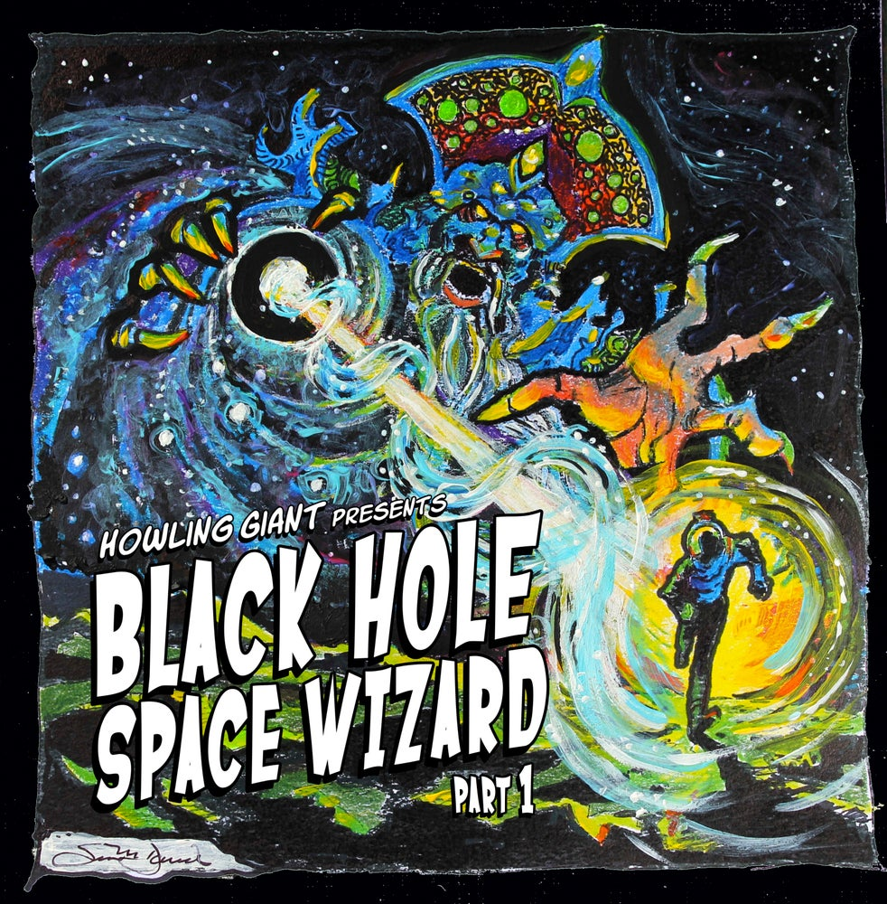 Image of Black Hole Space Wizard Part 1 CD