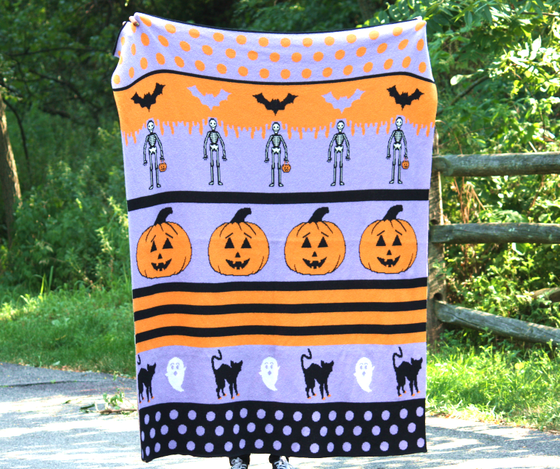Image of Halloween Fun Blanket