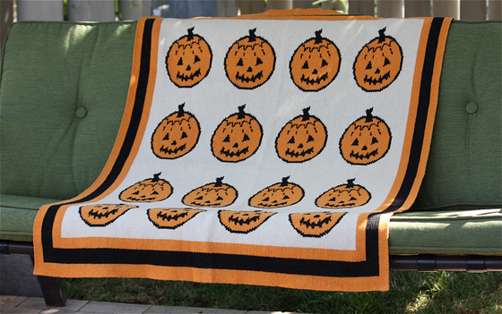 Image of Pumpkin Patch Baby / Lap Blanket