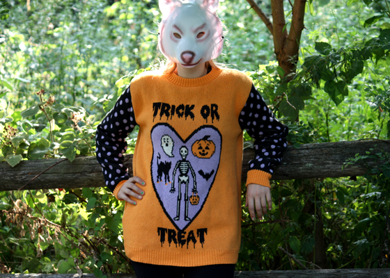 Image of Totally Rad Halloween Sweater