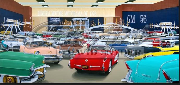 Image of MOTORAMA 1956