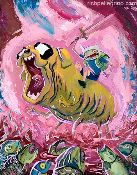Image of Adventure Time 17x22 Print