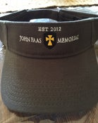 Image of John Faas Memorial Visor